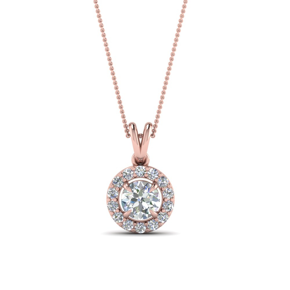 Halo Diamond Pendants | Fascinating Diamonds Throughout Most Recent Square Sparkle Halo Pendant Necklaces (View 23 of 25)