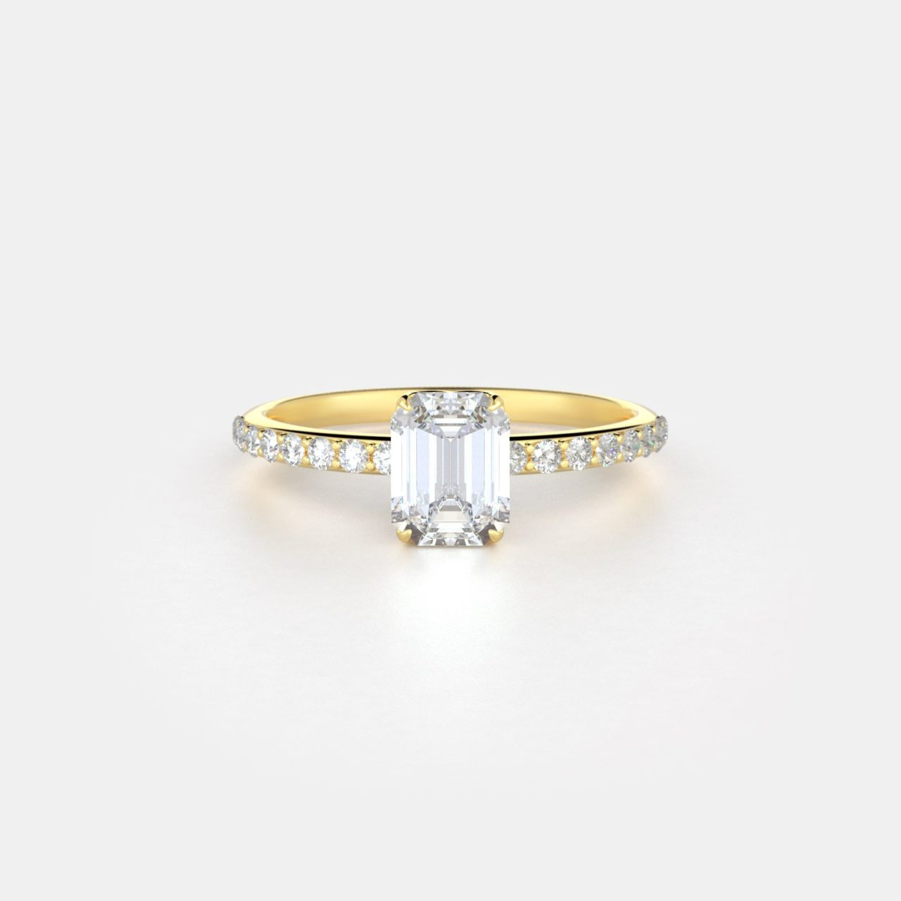 Harper No. 2 Pavé | Frank Darling In Best And Newest Elegant Pavé Band Rings (Gallery 12 of 25)