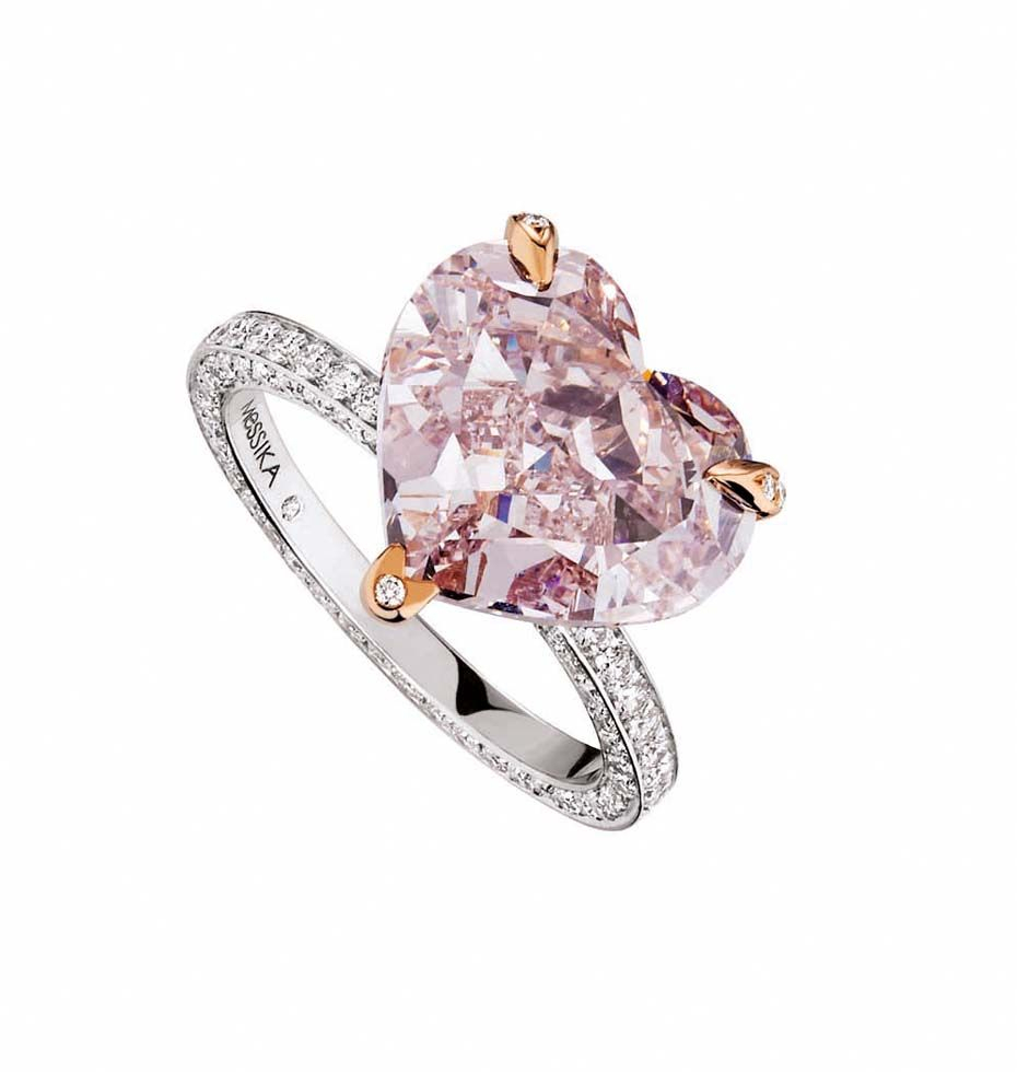 Heart Engagement Rings: Not Such A Bad Romance After All | Pink Within Most Current Pavé Hearts Band Rings (View 11 of 25)