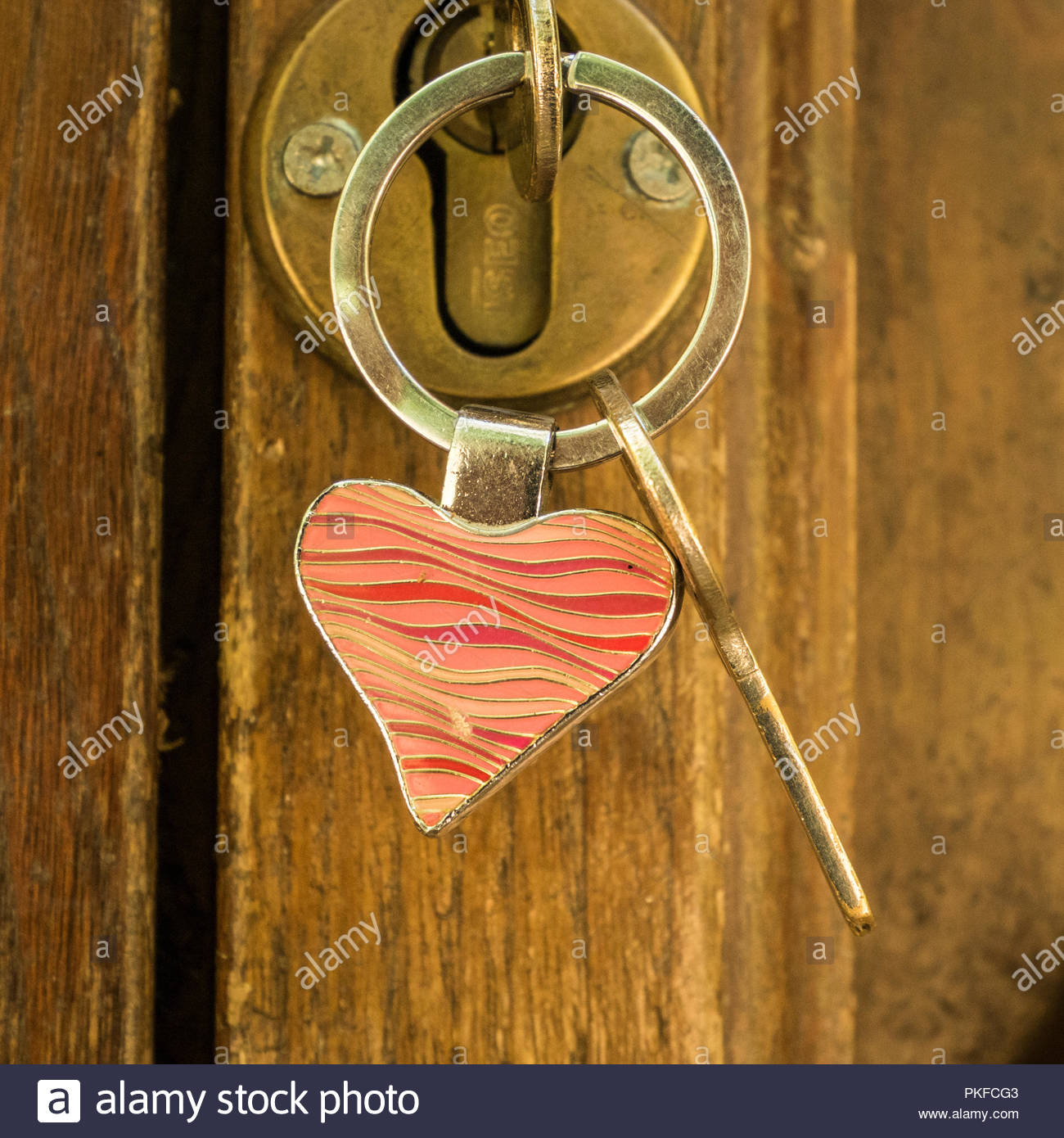 Heart Shaped Door Lock Stock Photos & Heart Shaped Door Lock Stock For 2018 Heart Shaped Padlock Rings (View 8 of 25)