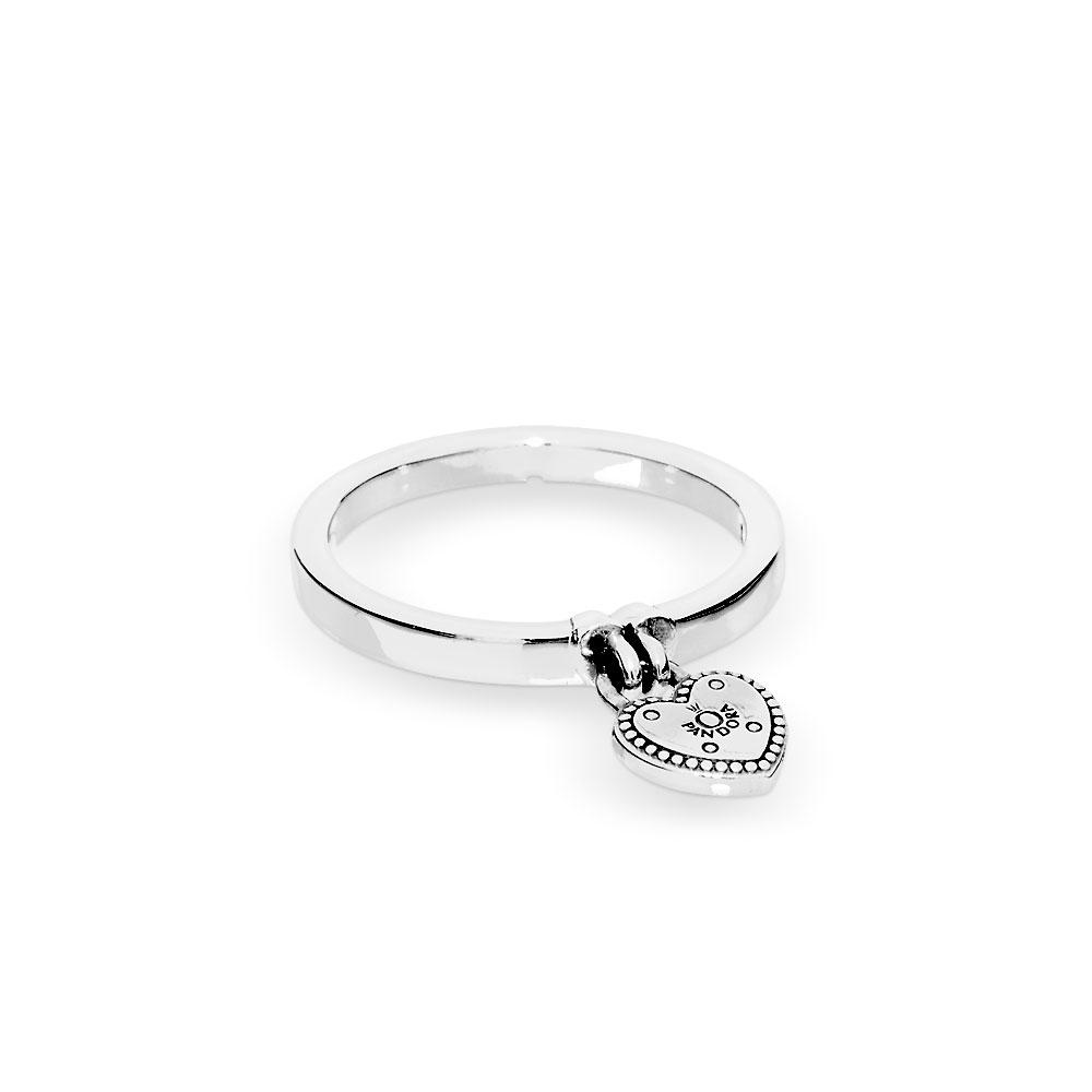 Heart Shaped Padlock Ring In Most Popular Heart Shaped Padlock Rings (View 5 of 25)