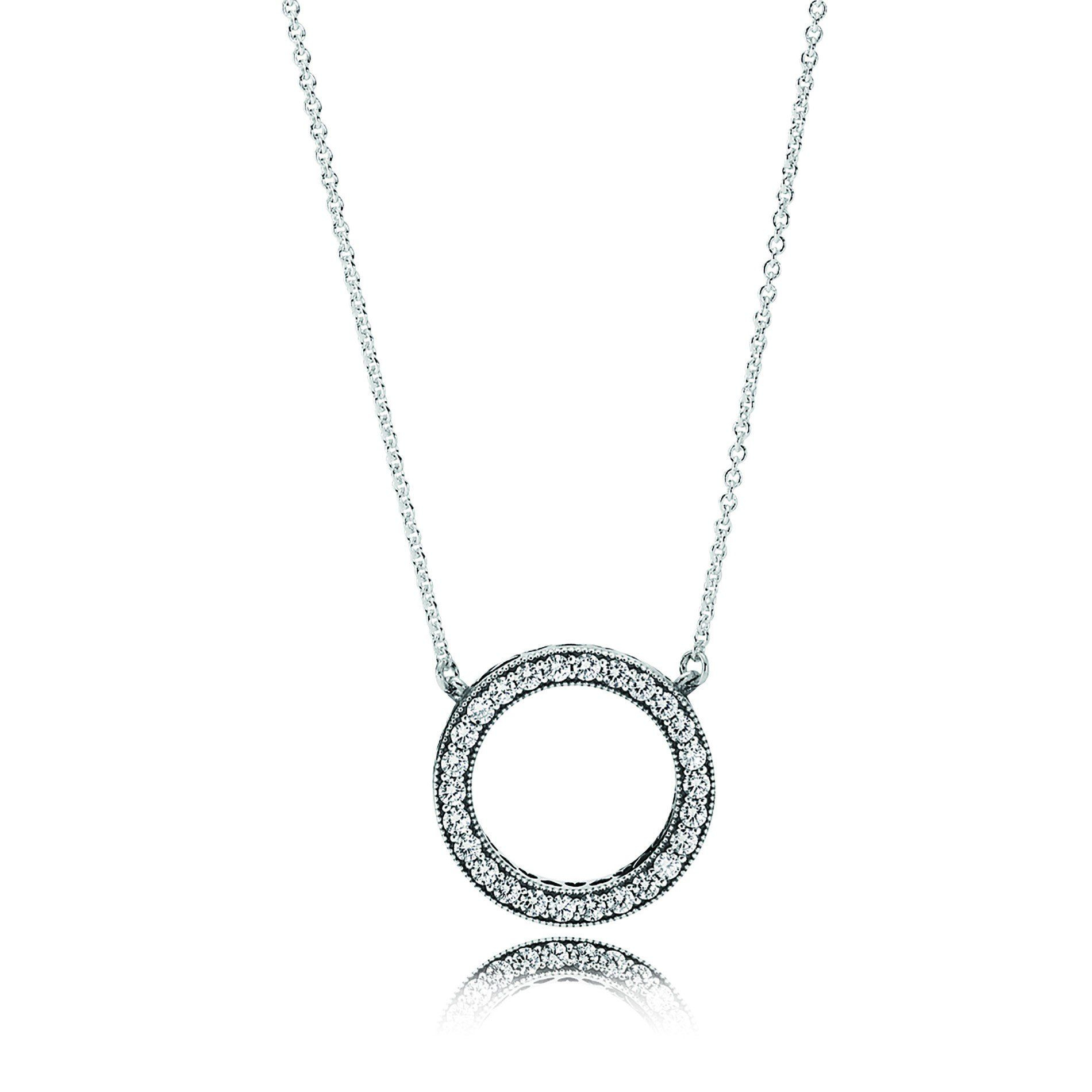 Hearts Of Pandora Halo Jewelry Set In 2019 | Pandora | Pandora Pertaining To Most Up To Date Pandora Logo Pendant Necklaces (Gallery 9 of 25)