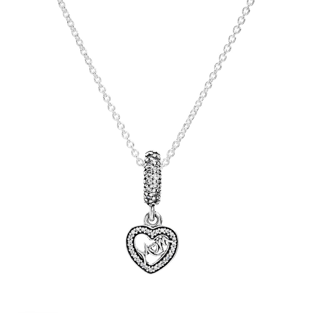 Hearts Of Pandora Necklace In Most Recently Released Hearts Of Pandora Necklaces (View 5 of 25)