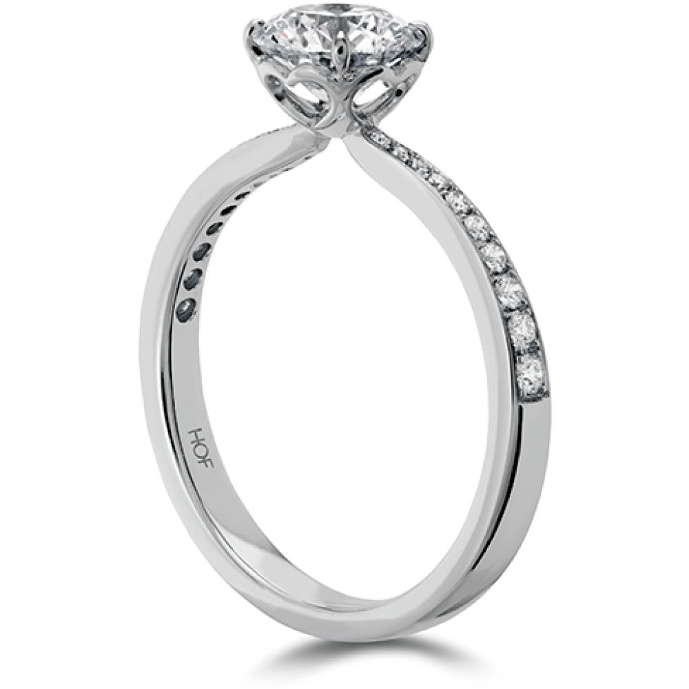 Hearts On Fire Signature Engagement Ring Diamond Band Pertaining To Newest Band Of Hearts Rings (View 10 of 25)