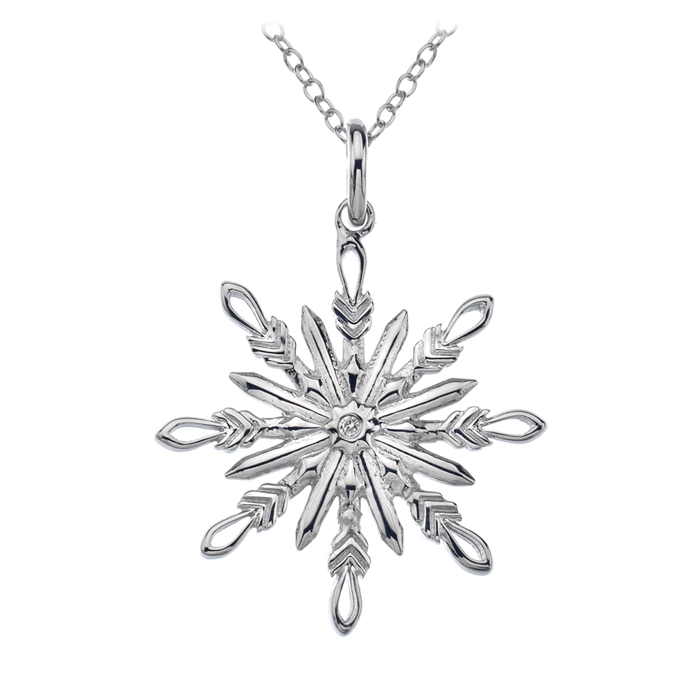 Hot Diamonds Snowflake Pendant With Regard To Most Recent Heart Of Winter Necklaces (View 4 of 25)