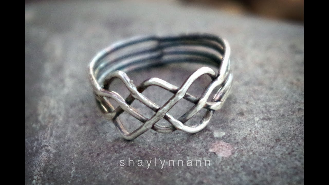 How To Solve A Celtic Knot Puzzle Ring (4 Band) In Recent Polished Heart Puzzle Rings (Gallery 21 of 25)