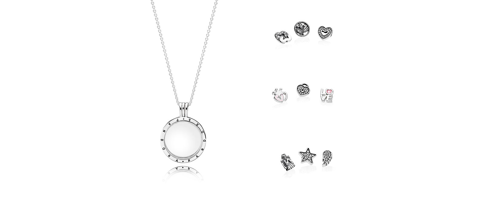 How We Saved $50 $80 On Pandora's Latest Floating Locket Necklace Throughout Most Popular Love & Family Petite Locket Charms Necklaces (View 8 of 25)