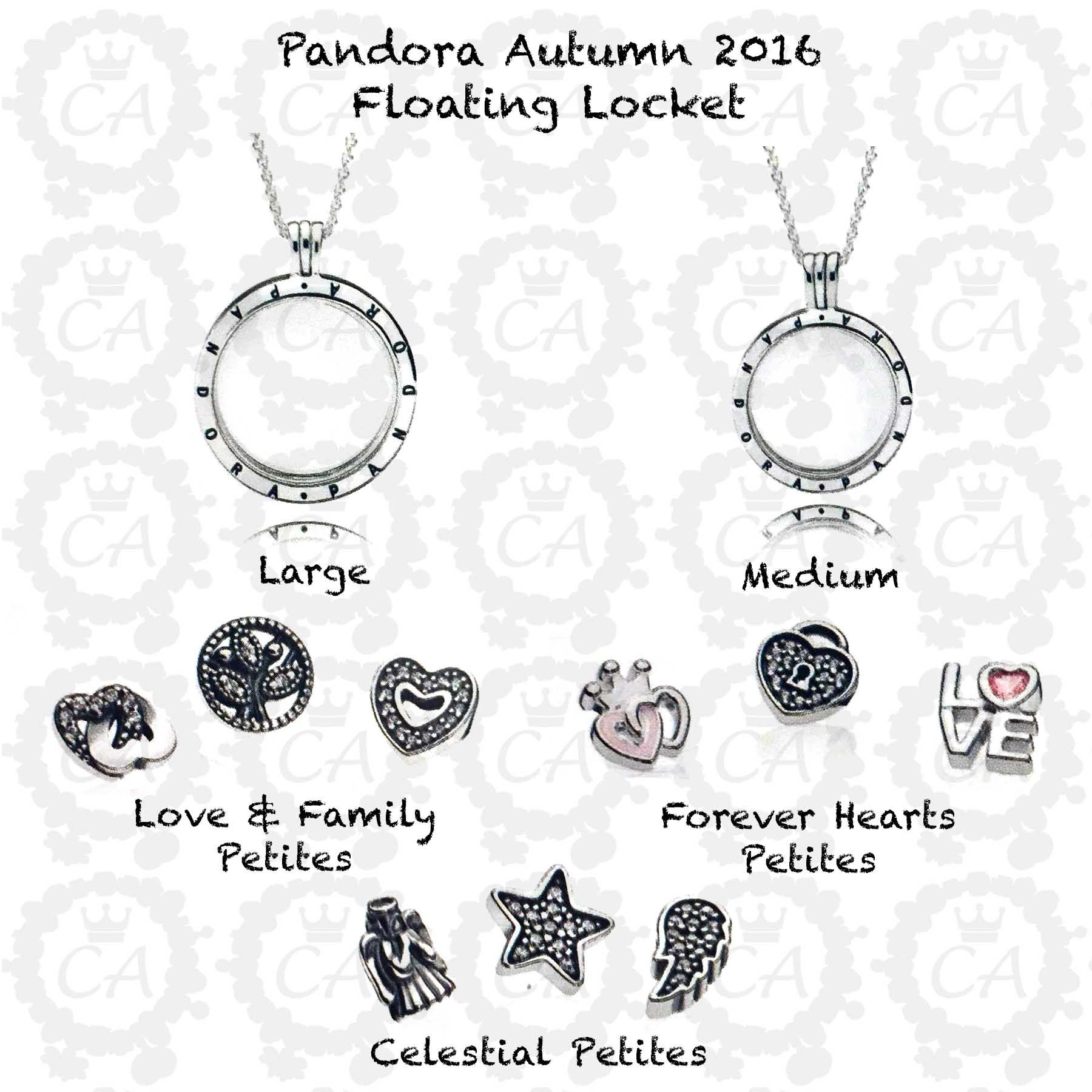 Featured Photo of Love & Family Petite Locket Charms Necklaces