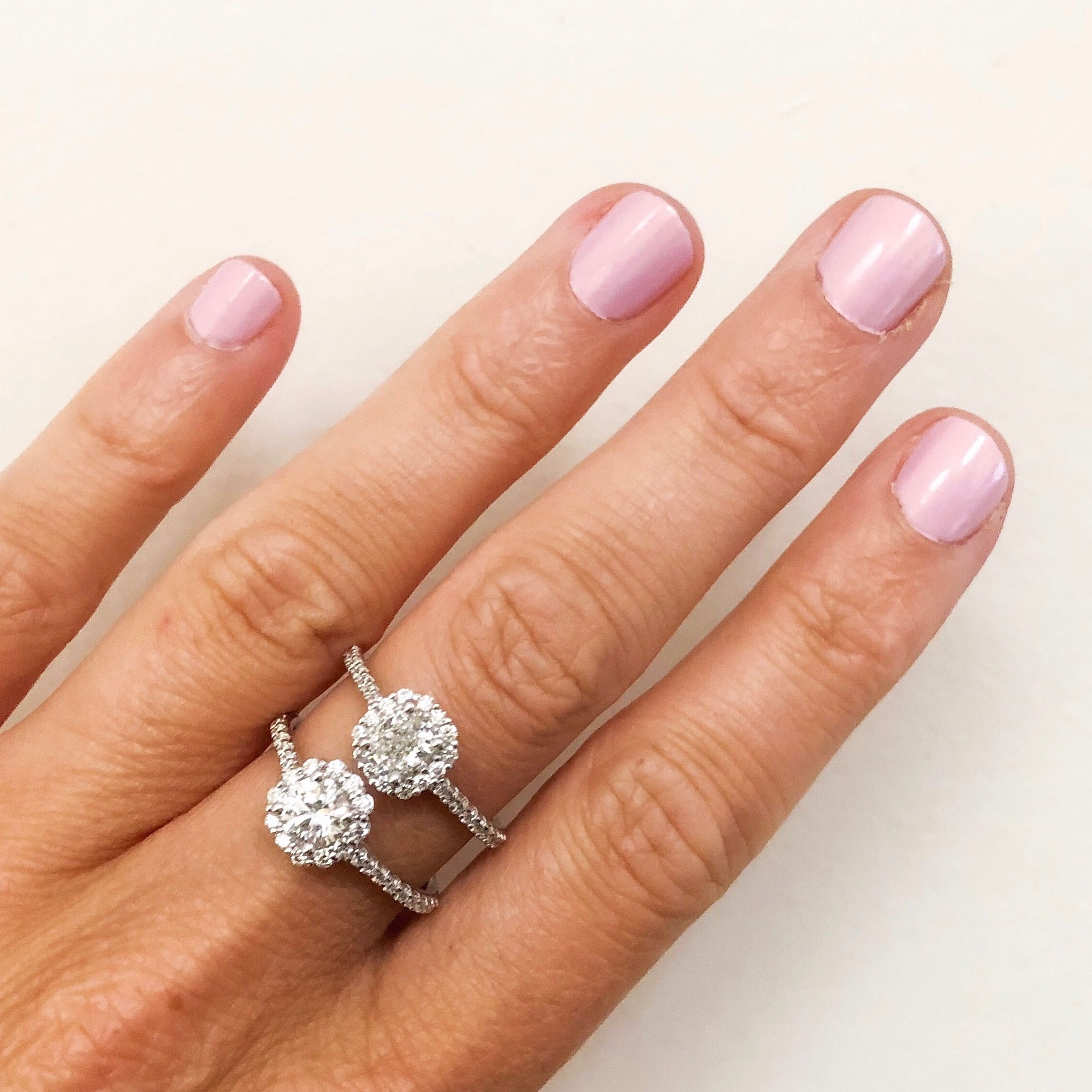 In Love With These Sparkling Halo Engagement Rings! View The Entire Pertaining To 2017 Sparkling Halo Rings (View 4 of 25)