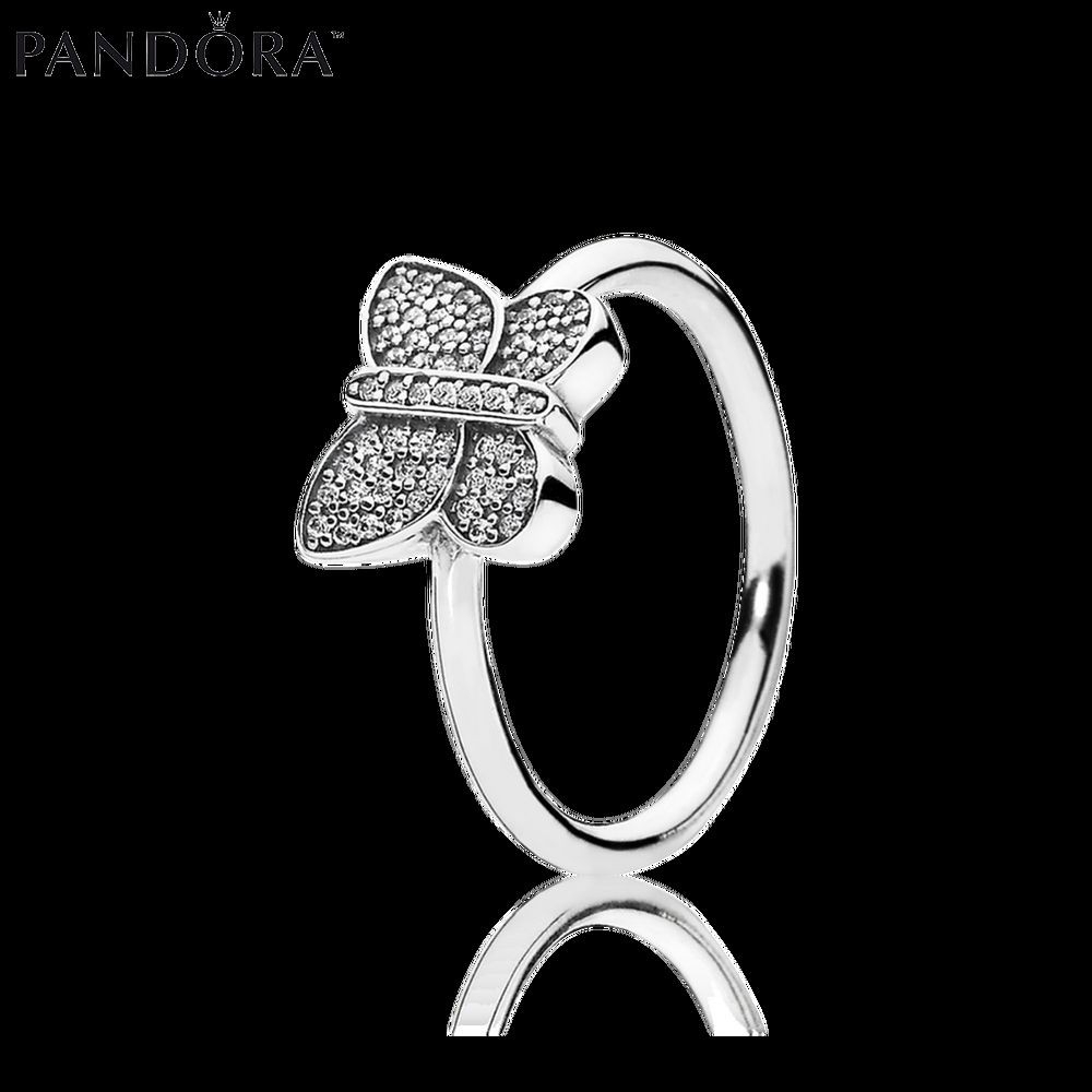 In Uk – Pandora Sterling Silver Rings Sparkling Butterfly Ring Throughout 2018 Sparkling Butterfly Rings (View 5 of 25)
