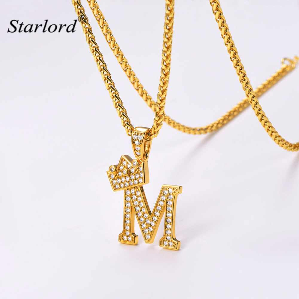 Initial B Letter Pendants & Necklaces Womenmen Personalized Gift Regarding Most Popular Letter M Alphabet Locket Element Necklaces (Gallery 25 of 25)