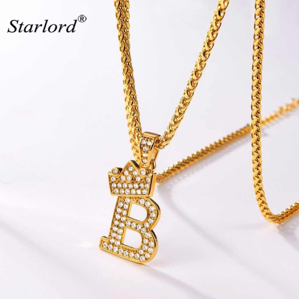 Initial B Letter Pendants & Necklaces Womenmen Personalized Gift Throughout Best And Newest Letter B Alphabet Locket Element Necklaces (View 11 of 25)