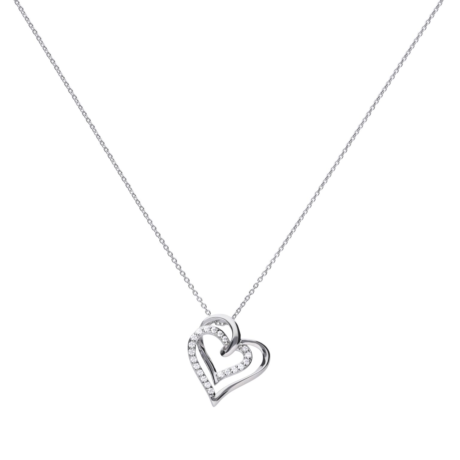 Featured Photo of Interlocked Hearts Collier Necklaces
