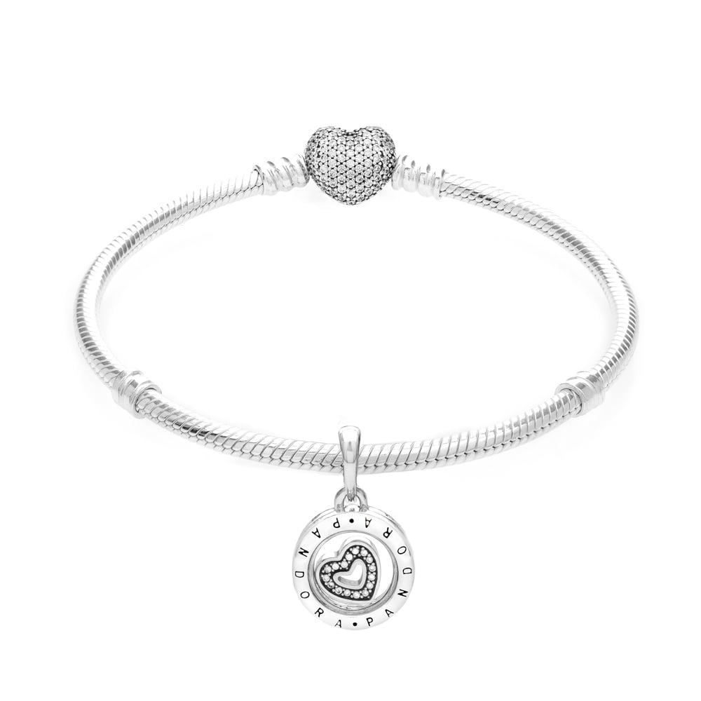 Ireland Pandora Necklace Heart Charm Instructions 4Ddef 5C6Dd With Most Recently Released Pandora Lockets Logo Heart Dangle Charm Necklaces (View 7 of 25)