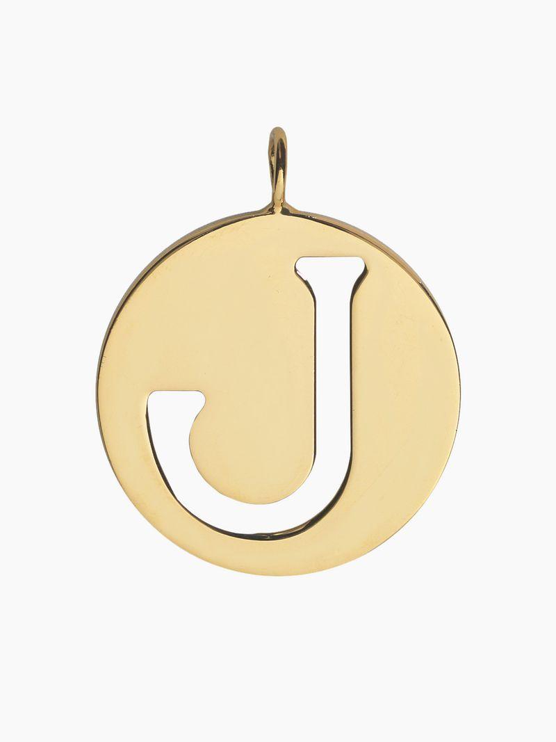 J Alphabet Necklace Pendant | Chloé Es With 2019 Letter X Alphabet Locket Element Necklaces (View 10 of 25)