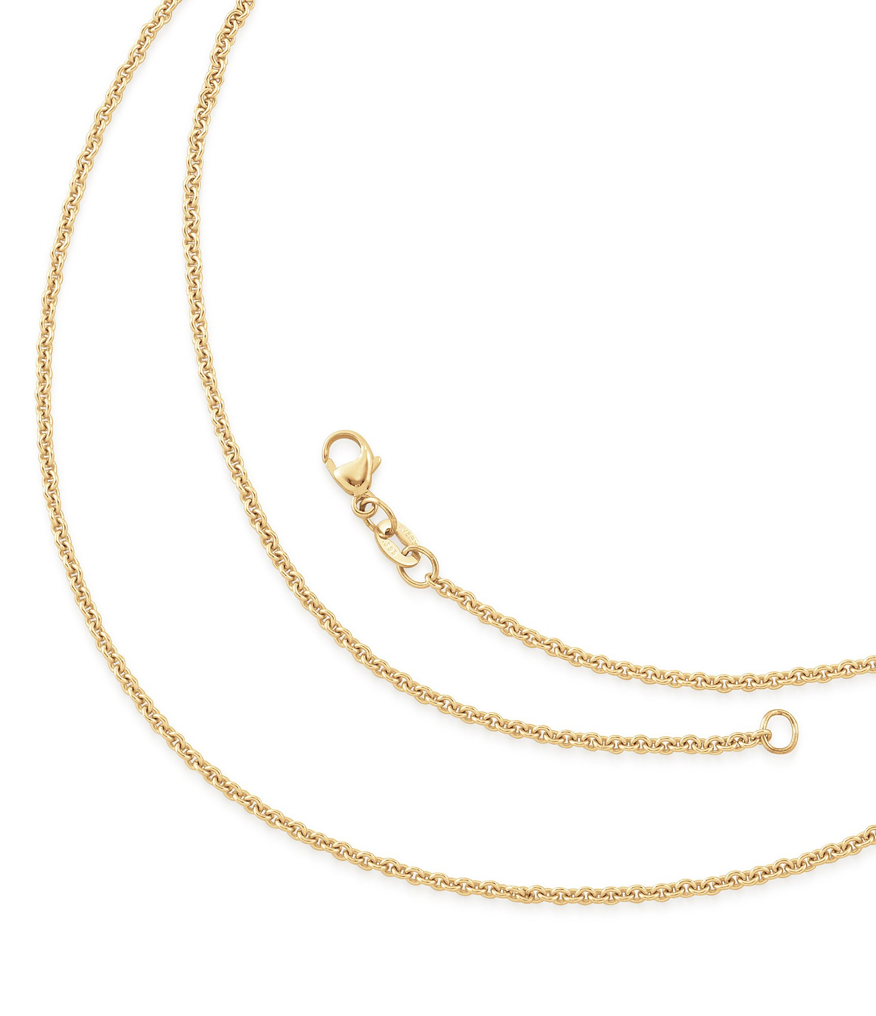 James Avery Light Cable Chain Pertaining To Most Popular Cable Chain Necklaces (View 8 of 25)
