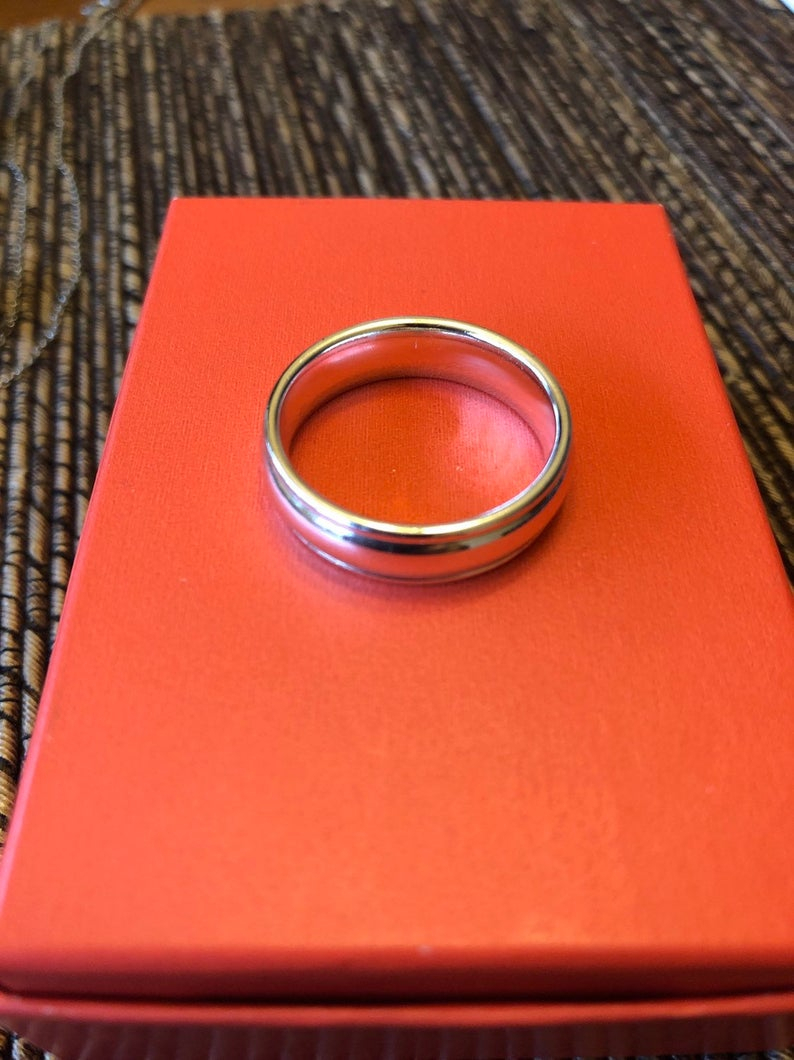 James Avery Sterling Silver Regal Wedding Band Ring Size 11 For Latest Regal Band Rings (View 7 of 25)