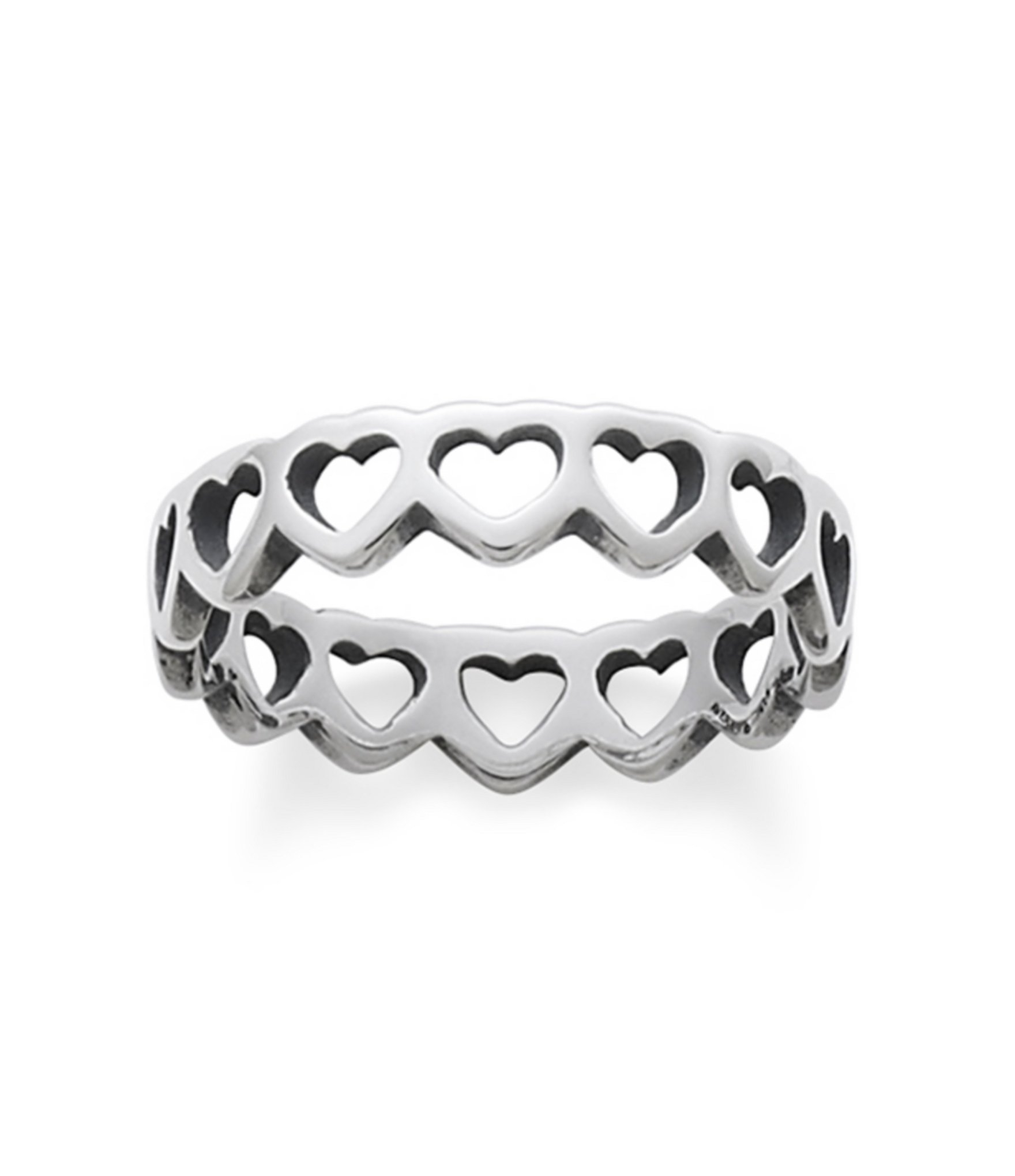 James Avery Tiny Hearts Band Ring | Dillard's In Most Current Band Of Hearts Rings (View 6 of 25)