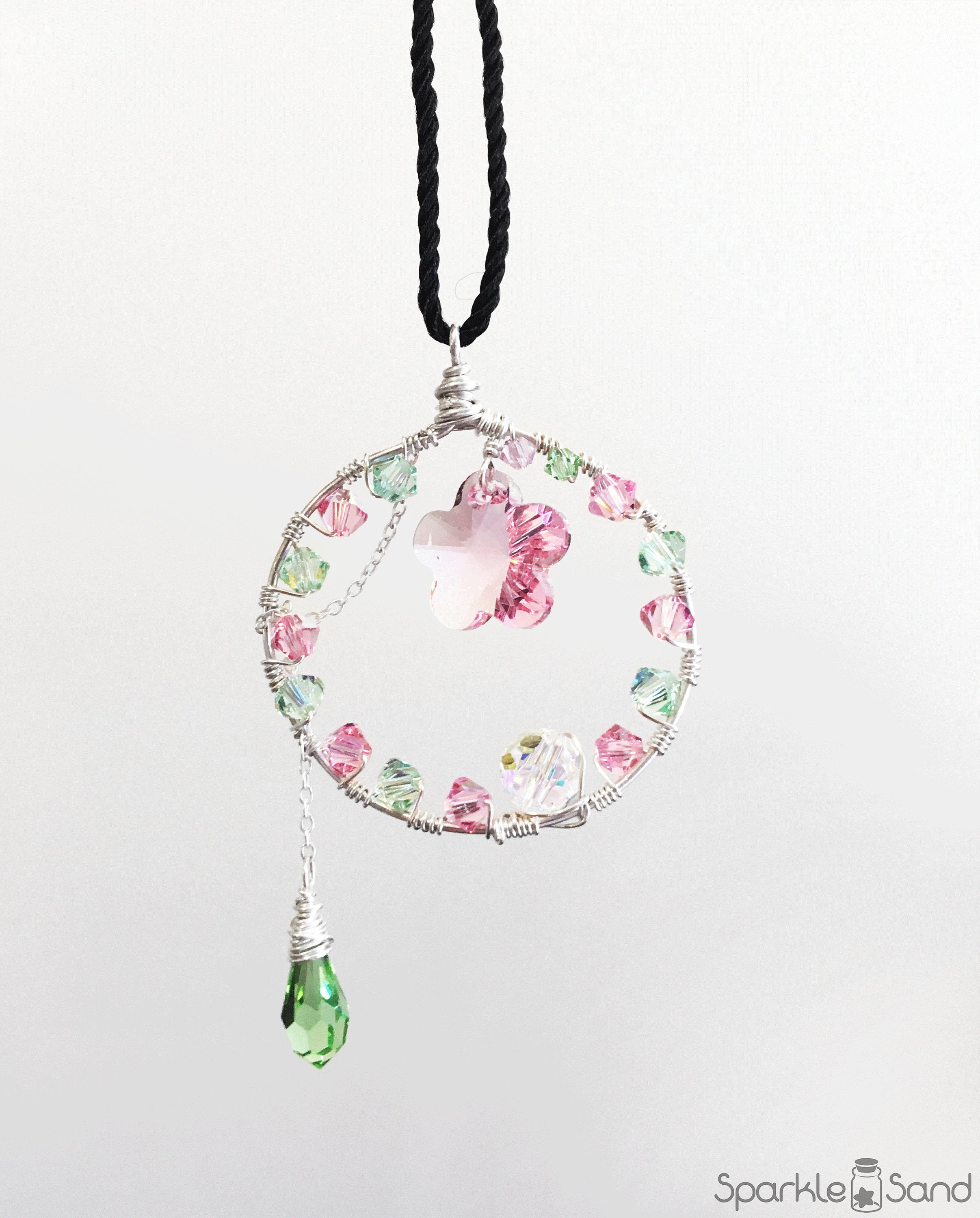 Featured Photo of Pink Cherry Blossom Flower Locket Element Necklaces