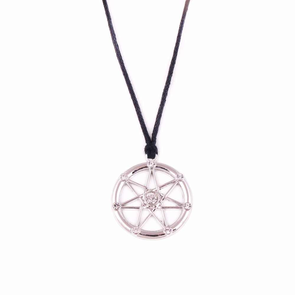 Jewelry Jewish Torah Scroll Hamsa Hand Star Of David Tibetan Silver Plated  Male Female Necklace For Newest Letter O Alphabet Locket Element Necklaces (View 15 of 26)