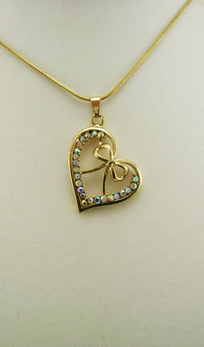 Jewelry & Watches – Fashion Jewelry: Find Nolan Miller Products With Latest Ribbon Open Heart Necklaces (View 25 of 25)