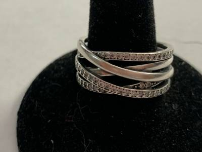 Jewelry & Watches – Rings: Find Pandora Products Online At Storemeister Throughout Most Recent Sparkling & Polished Lines Rings (View 11 of 25)