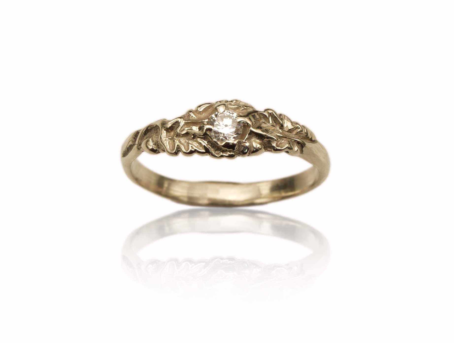 Jewelryda'oud Within Most Current Oak Leaf Double Rings (Gallery 2 of 25)