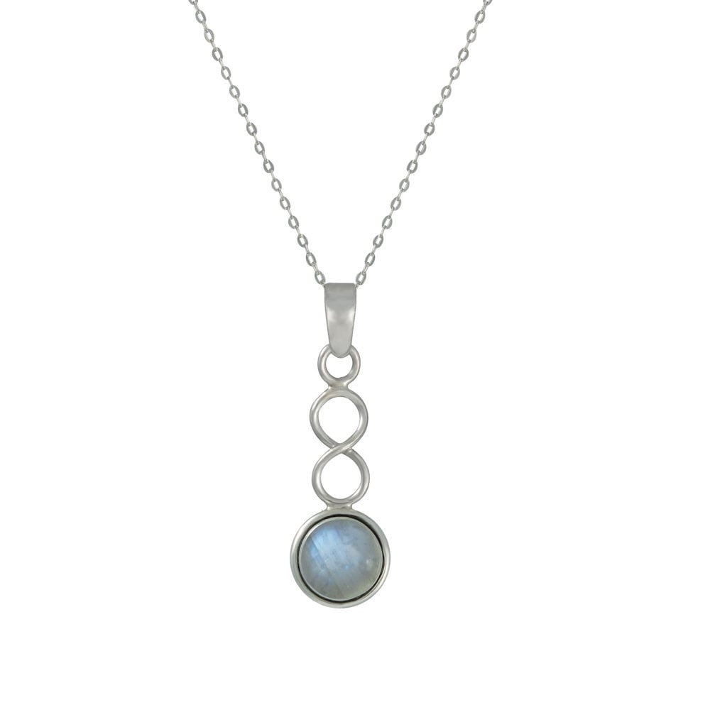 June Moonstone Birthstone Sterling Silver Pendant Intended For 2019 Grey Moonstone June Droplet Pendant Necklaces (Gallery 23 of 25)