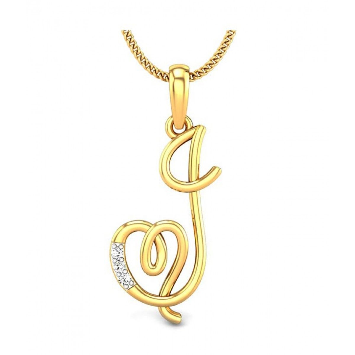 Kataria Jewellers Letter J With Valentine Heart 92.5 Bis Hallmarked Throughout Most Recently Released Letter J Alphabet Locket Element Necklaces (Gallery 4 of 25)