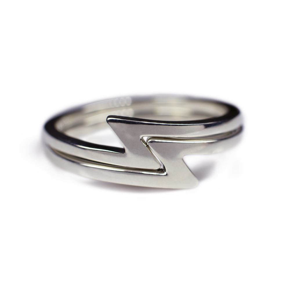 Ladies Snake Ring In Your Choice Of Metal – Casavir Jewelry Intended For Most Current Polished Zigzag Rings (Gallery 10 of 25)