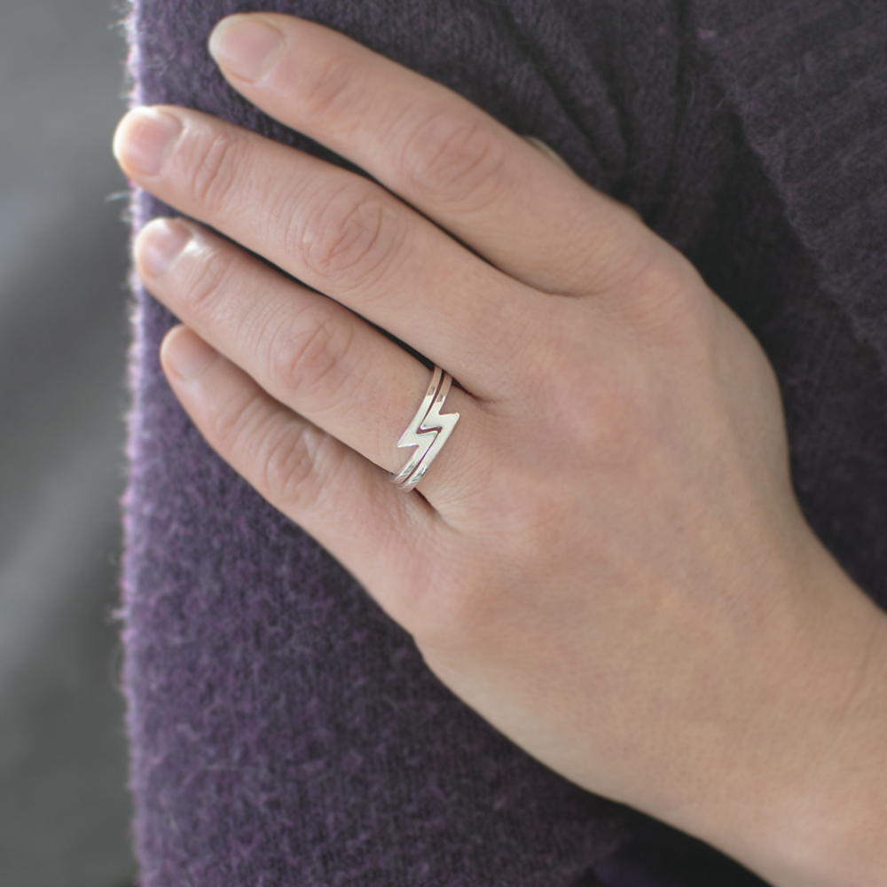Ladies Snake Ring In Your Choice Of Metal – Casavir Jewelry With Regard To Latest Polished Zigzag Rings (View 9 of 25)