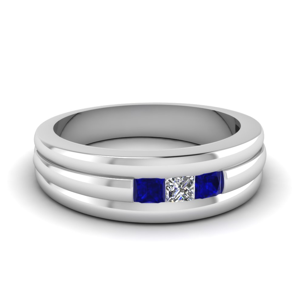 Featured Photo of Diamond Layered Anniversary Bands In White Gold