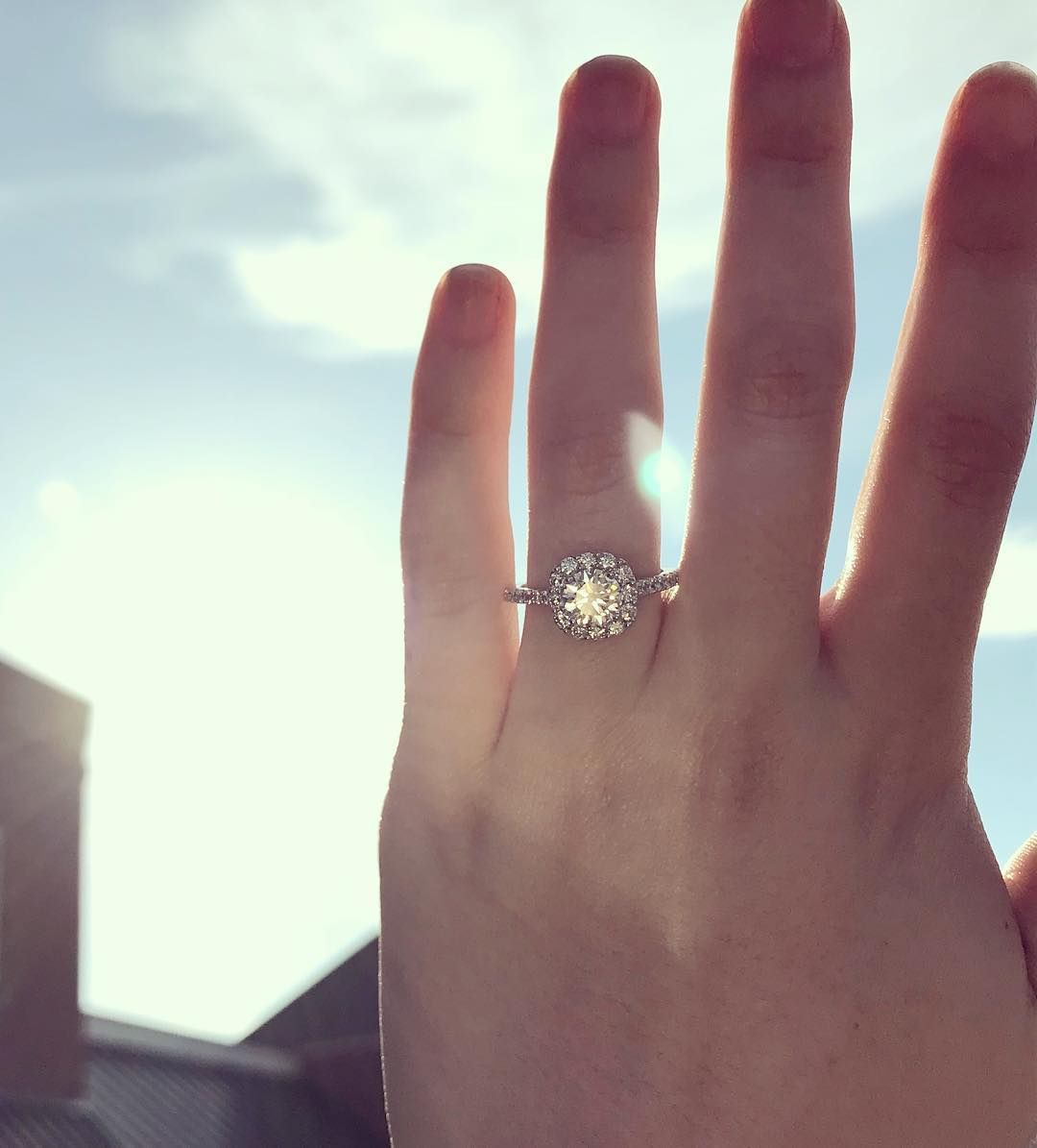 Let Your Engagement Rings Sparkle Like The Sun (View 11 of 25)