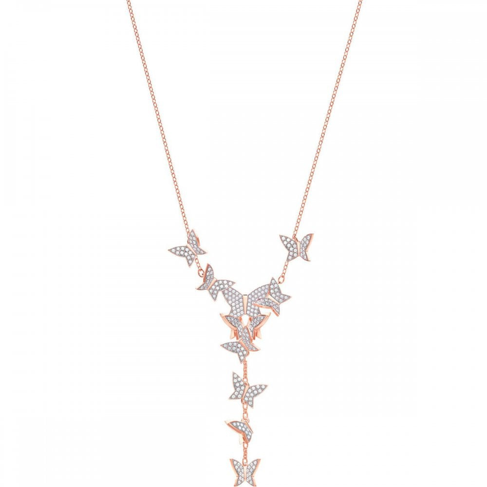 Featured Photo of Sparkling Butterfly Y  Necklaces