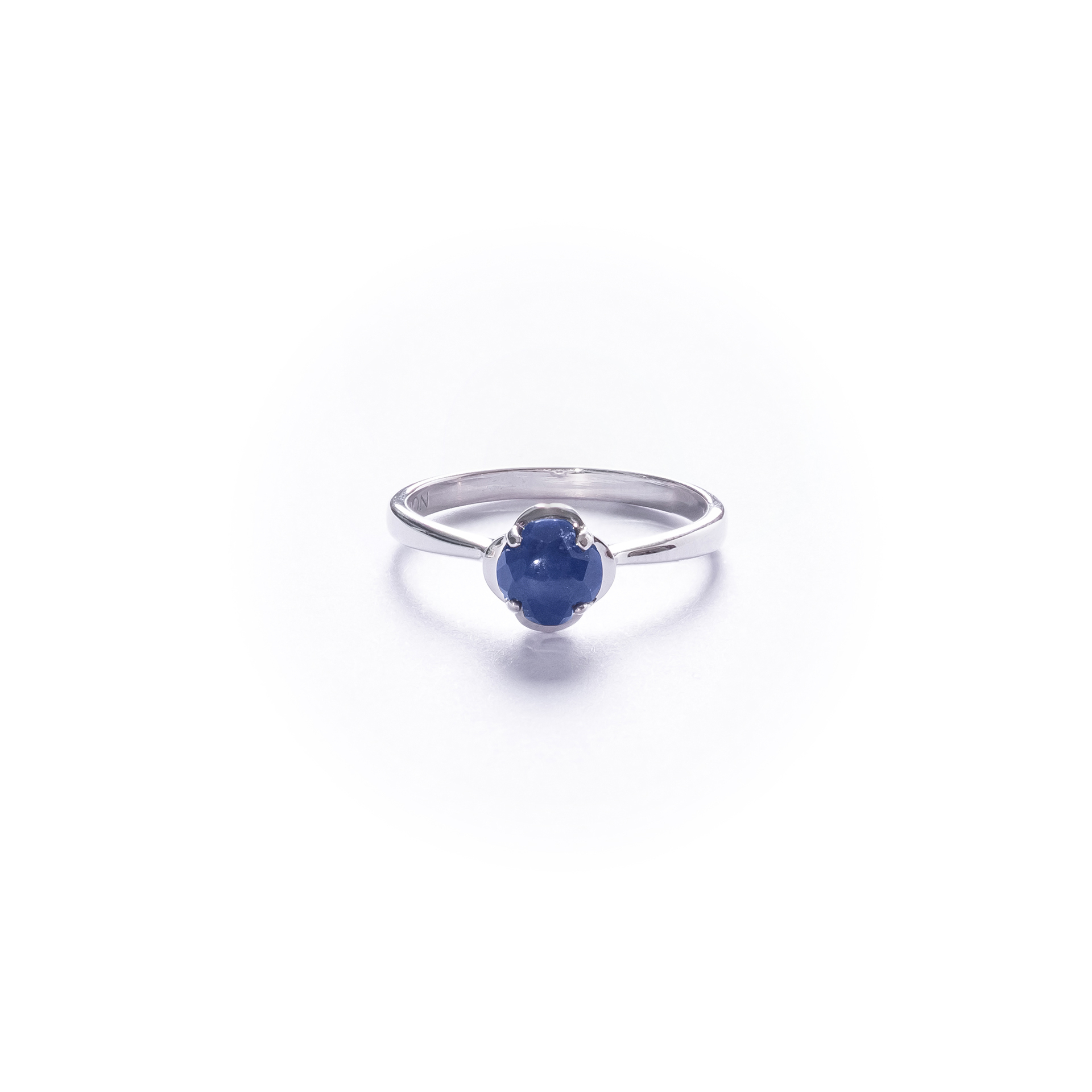Little Lucky Clover Ring With Lapis Lazuli Throughout Most Recently Released Lucky Four Leaf Clover Open Rings (View 12 of 25)