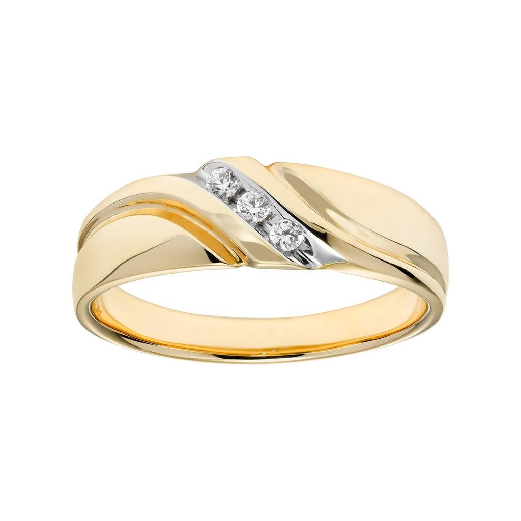 Lovemark 10K Gold 1/10 Carat T.w (View 17 of 25)