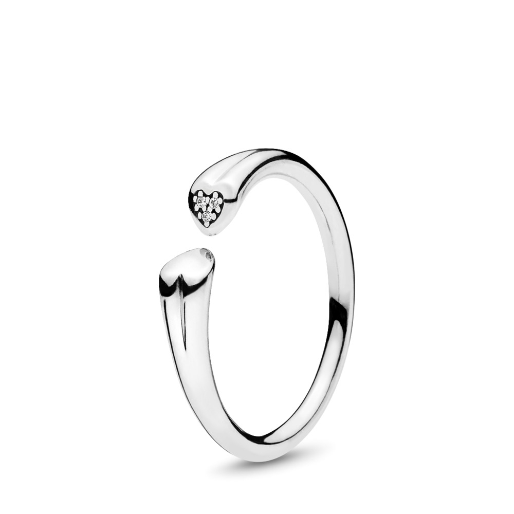 Loving Heart Rings Within Most Popular Pavé Puzzle Heart Rings (View 8 of 25)