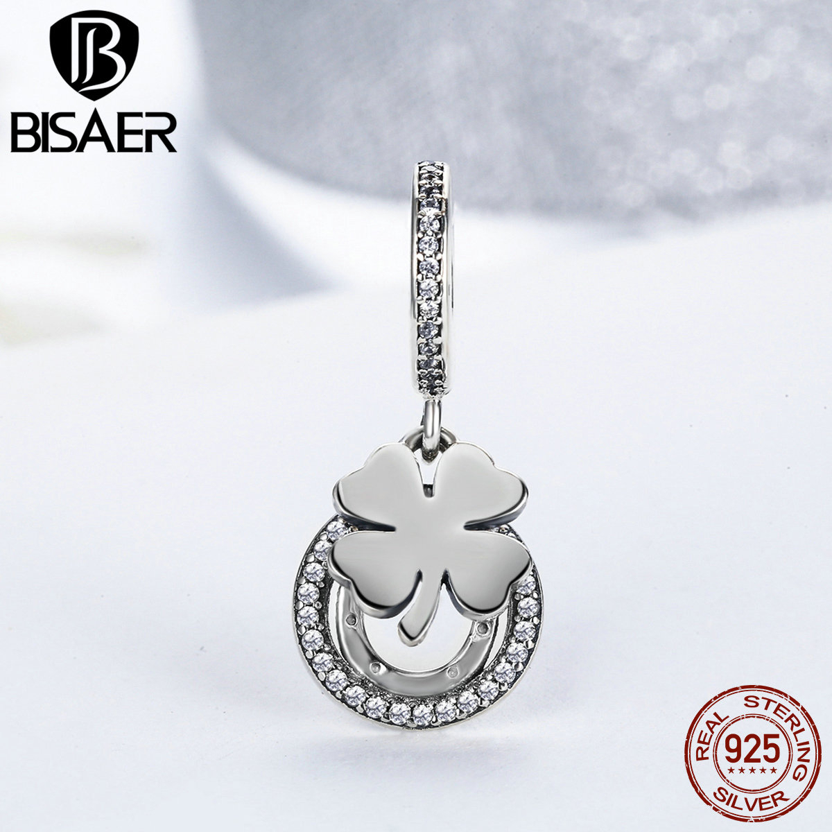 Lucky Pendant With Four Leaf Clover And Horseshoe With Most Recently Released Lucky Four Leaf Clover Locket Element Necklaces (View 18 of 25)