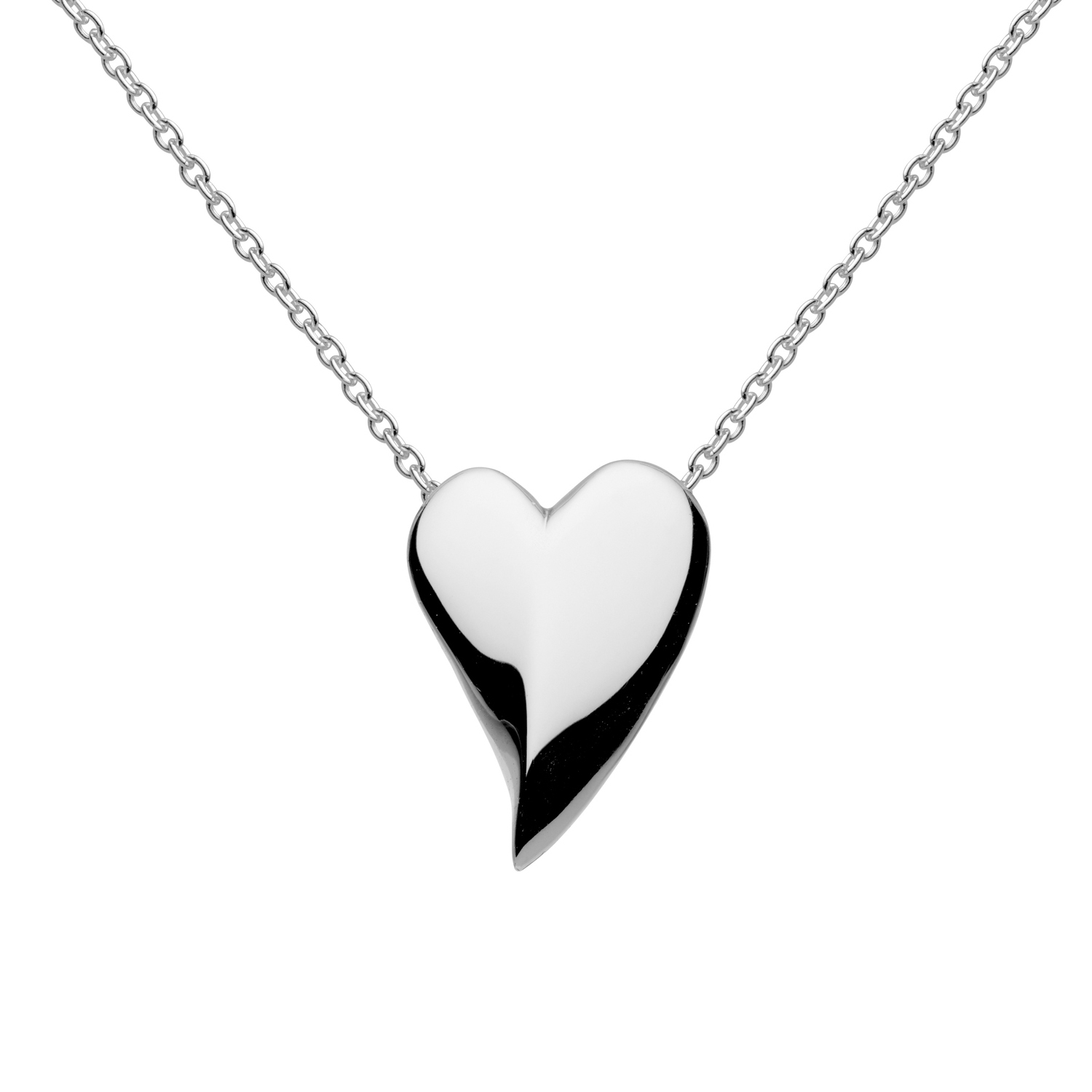 Lust Heart Sterling Silver Necklace – Castle Rocks And Jewelry Throughout Most Popular Knotted Hearts T Bar Necklaces (Gallery 24 of 25)
