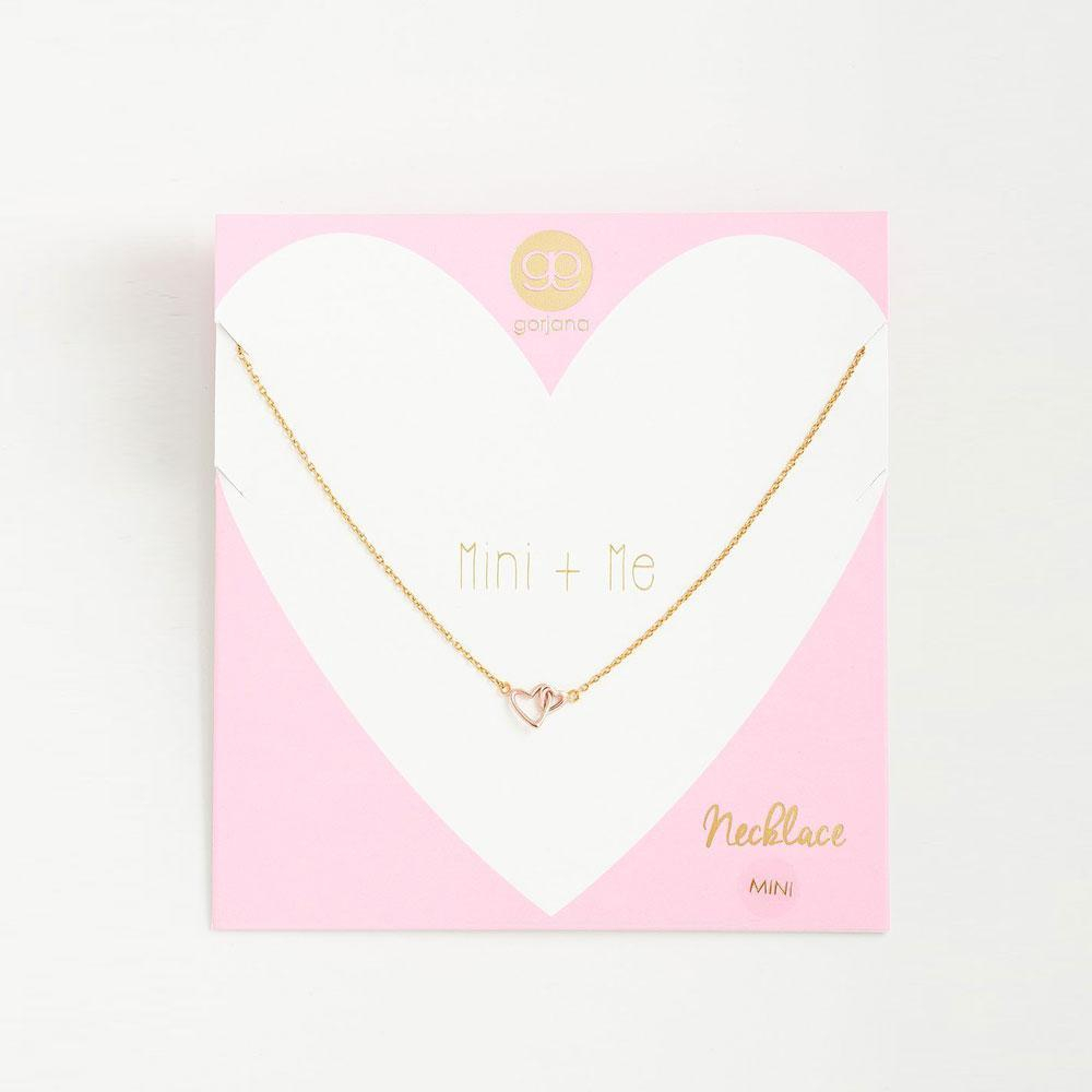 Lyst – Gorjana Mini + Me Interlocking Hearts Child Necklace In Metallic Regarding Most Recent Interlocked Hearts Collier Necklaces (View 10 of 25)