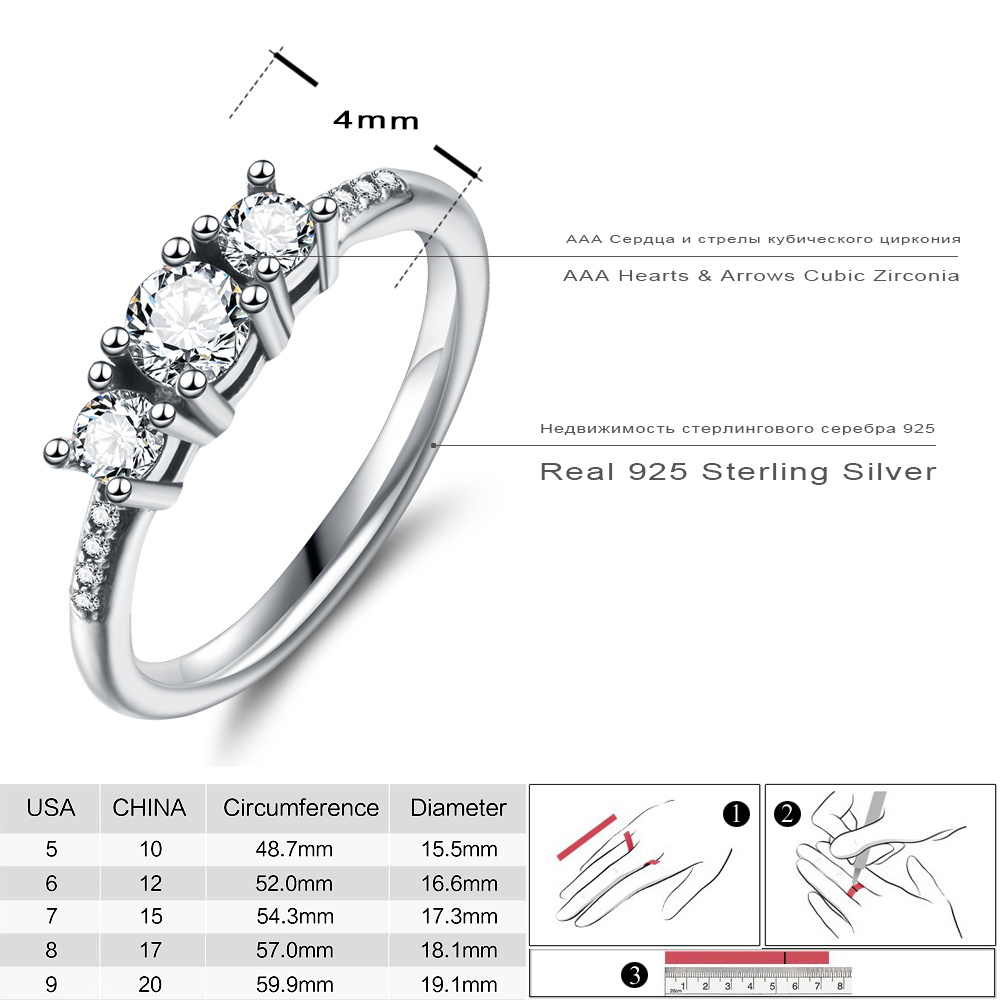 Lzeshine Elegant 100% 925 Sterling Silver Heart Of Gold Puzzle Rings Stack For Women Wedding Rings Set Jewelry Within Latest Polished Heart Puzzle Rings (View 17 of 25)