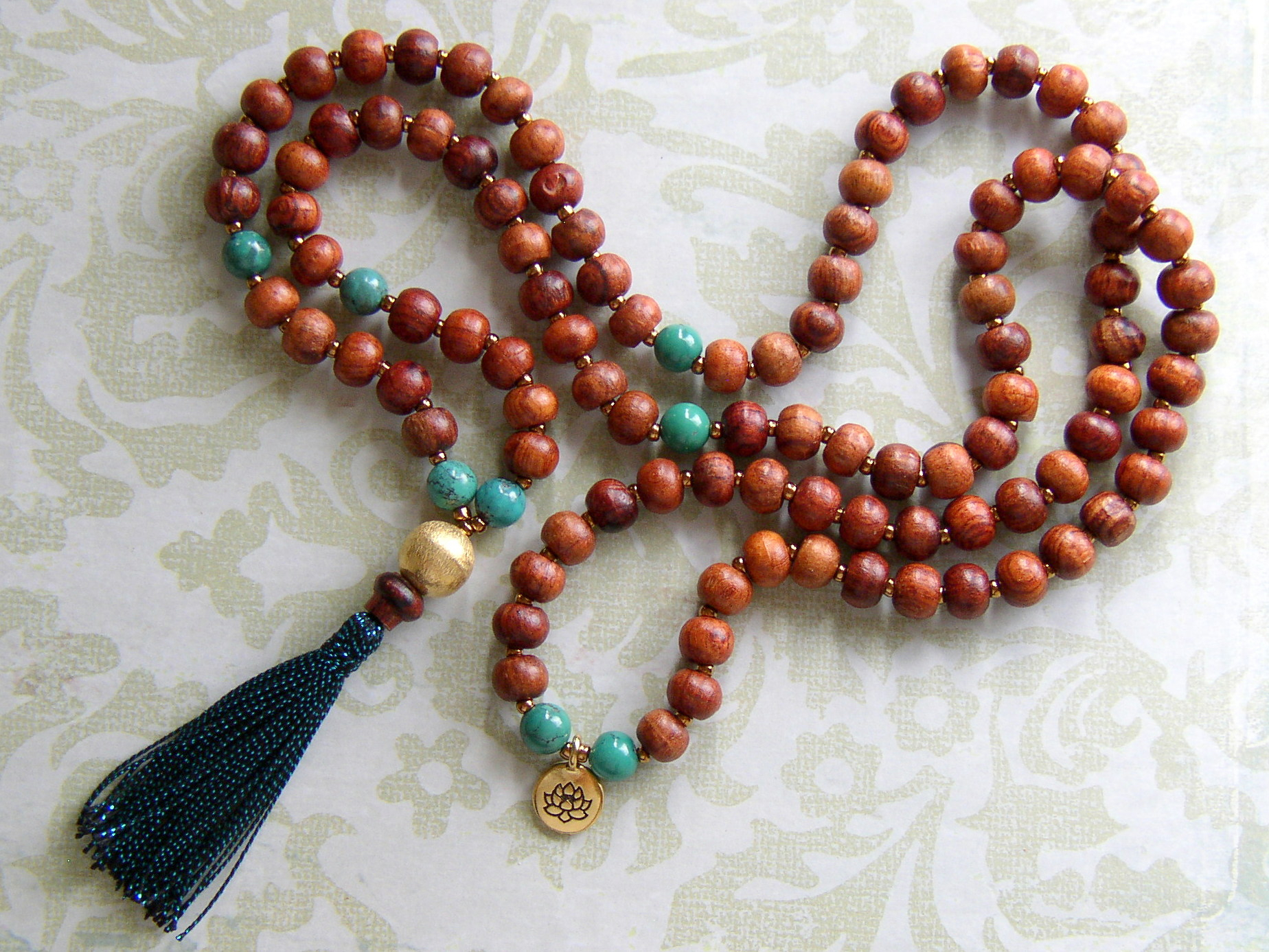 Make A Tassel Necklace With Prayer Beads – Rings And Thingsrings And Regarding Most Current Strings Of Beads Rings (Gallery 19 of 25)