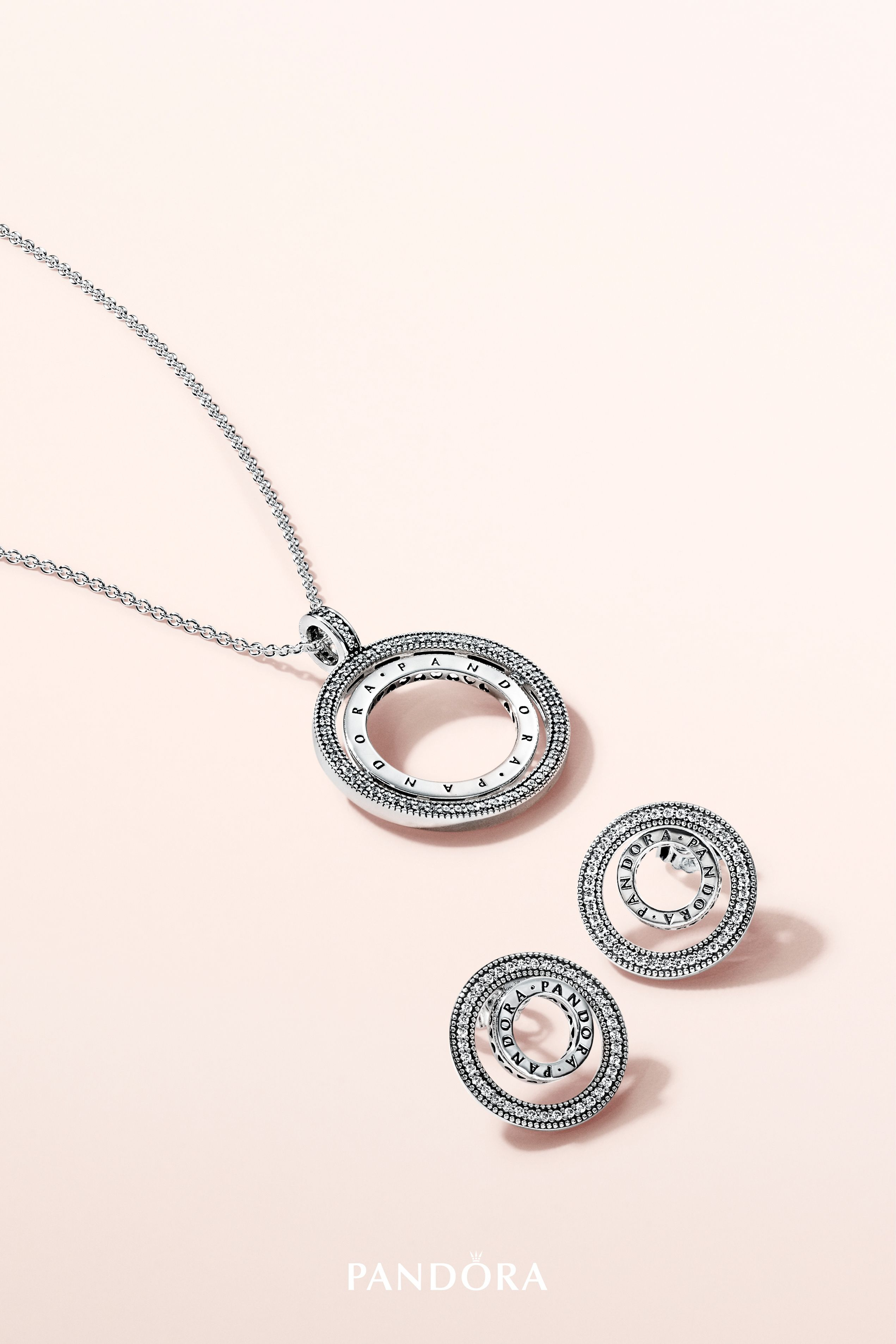 Make Your Style Spin With Our Versatile New Spinning Necklace And With Regard To Current Pandora Logo Circle Necklaces (Gallery 24 of 25)