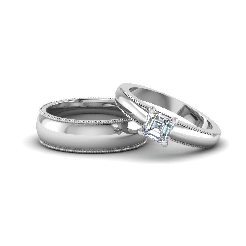 Matching Wedding Bands For Him And Her | Fascinating Diamonds With Regard To Most Up To Date Diamond Layered Anniversary Ring In White Gold (View 3 of 25)
