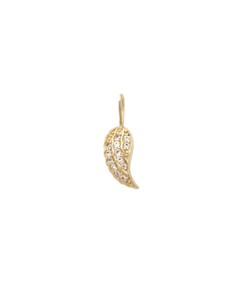 Melanie Auld Jillian Harris And Melanie Auld Adorned Charm Collection –  Pavé Angel Wing Charm Regarding 2020 Pavé Angel Wing Locket Element Necklaces (Gallery 19 of 25)