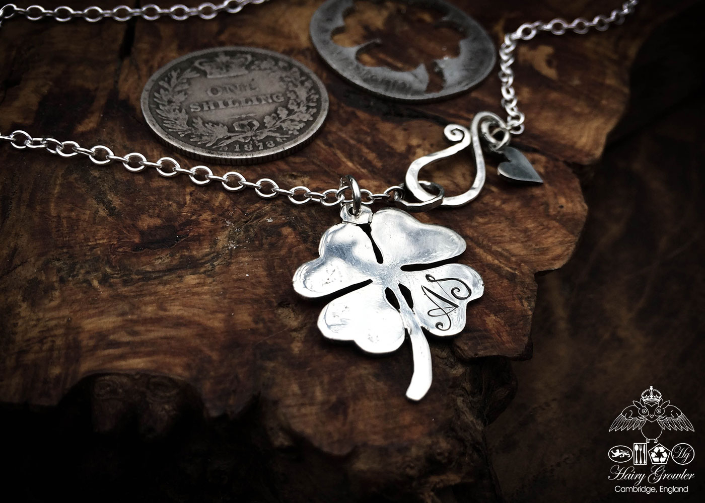 Melucky Charms. With Recent Lucky Four Leaf Clover Y Necklaces (Gallery 19 of 25)