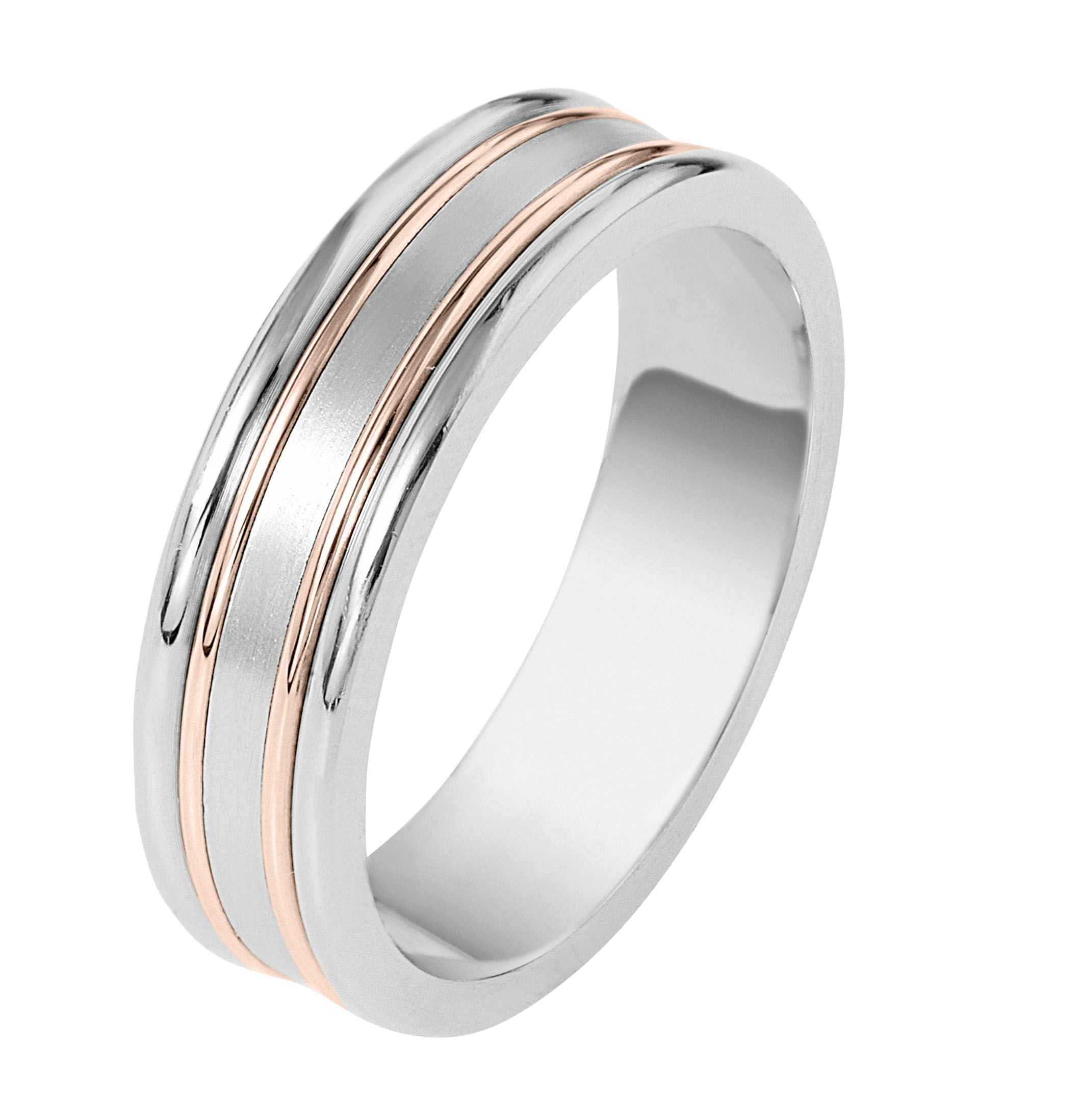 Mens Wedding Bands – Henry's Fine Jewelry With Regard To Most Up To Date White Stripes Wedding Rings (Gallery 11 of 15)