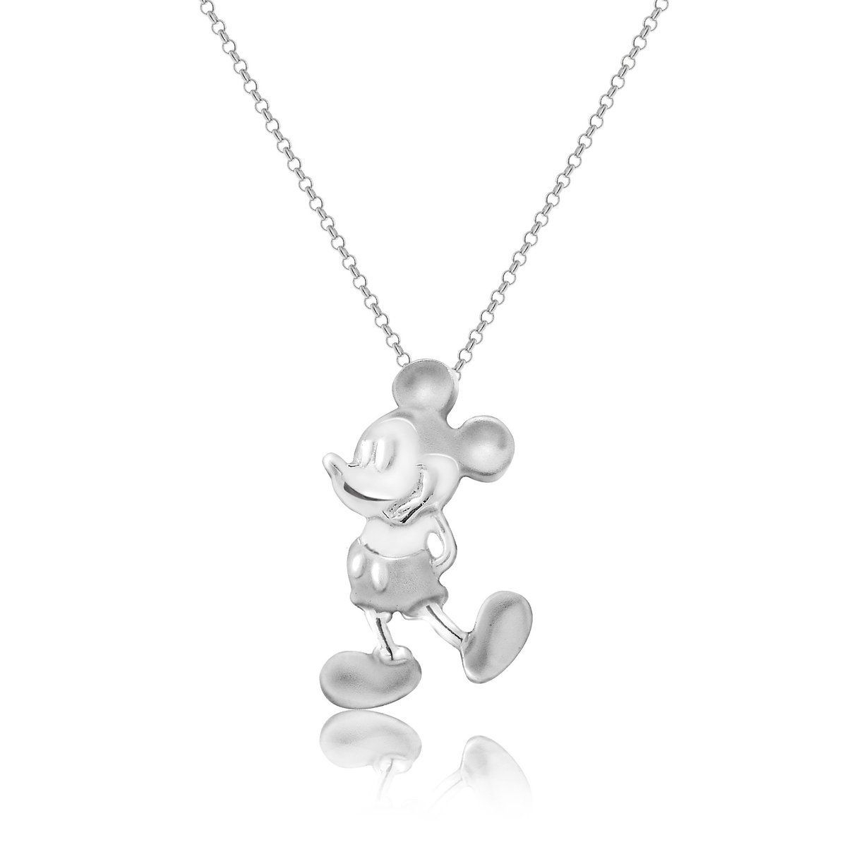 Mickey Mouse Two Tone Necklace In 2019 | Accessories | Mickey Mouse For Current Disney Classic Mickey Pendant Necklaces (View 14 of 25)