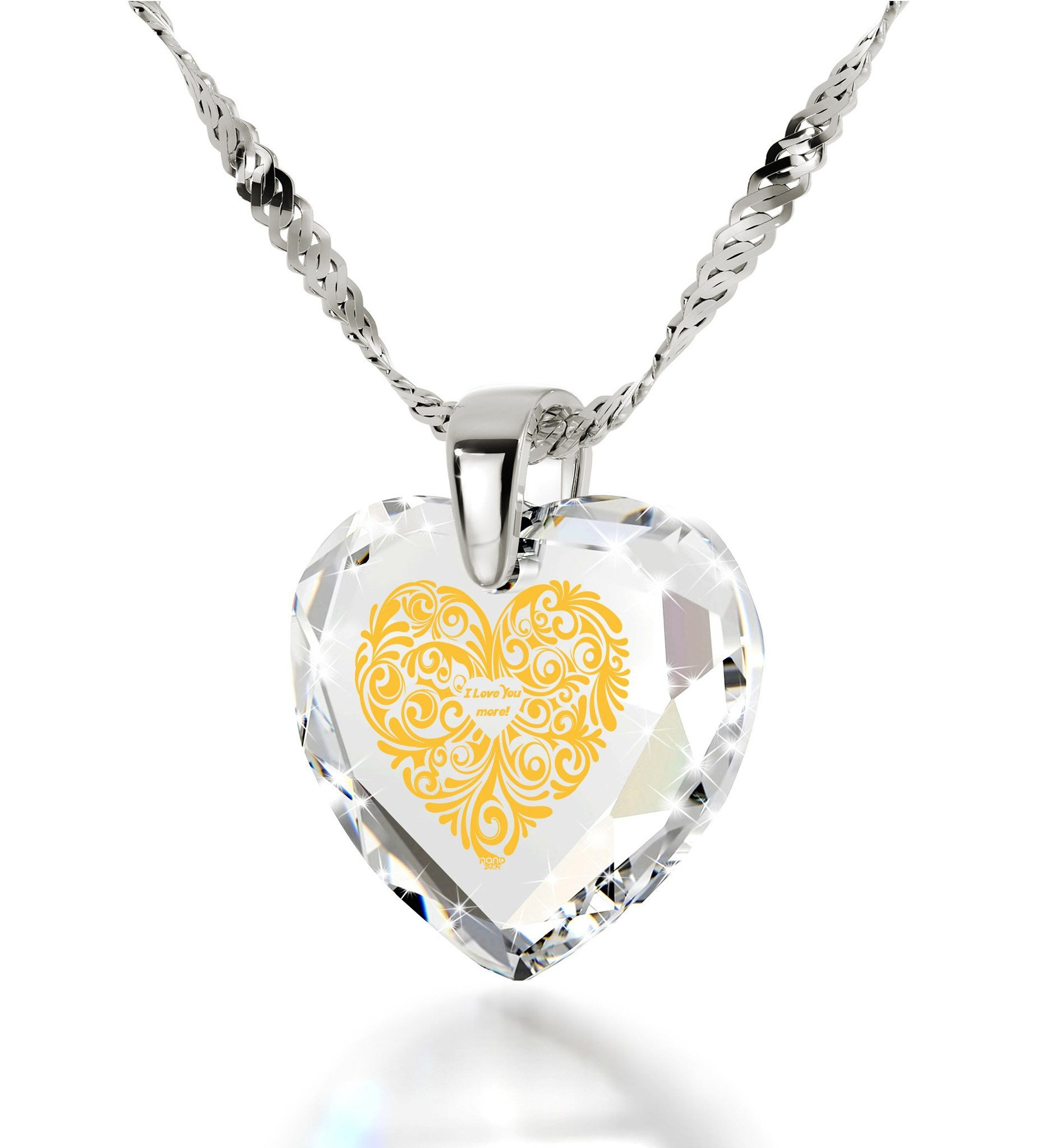 Nano Jewelry, Gift Shop For Unique Necklaces. Shop Now! Throughout Most Up To Date Heart & Love You More Round Pendant Necklaces (Gallery 16 of 25)