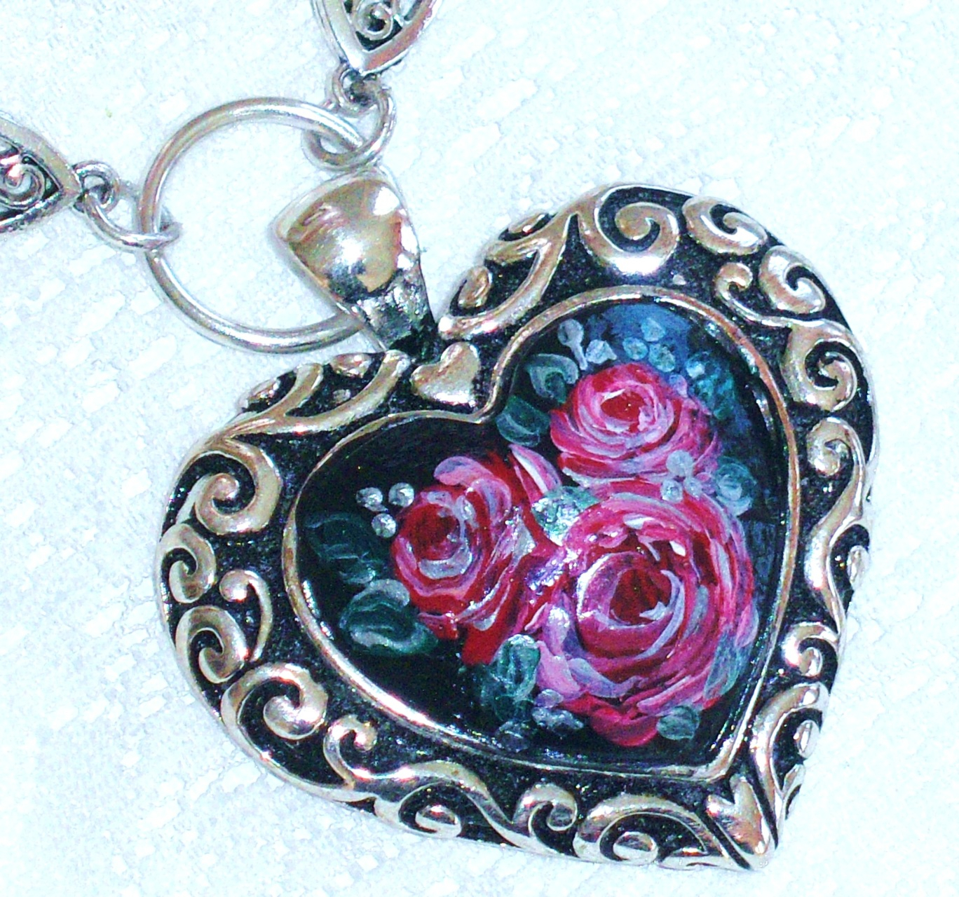 Necklaces – Goddess Arts Collection With Regard To Most Recent Ornate Hearts Tassel Necklaces (View 12 of 25)